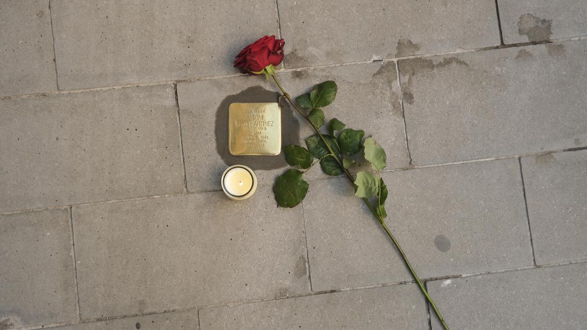 Homenatge a quatre manresans deportats als camps de concentració nazis