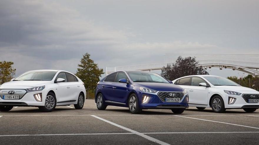 Hyundai Ioniq 2020, triple electrificació