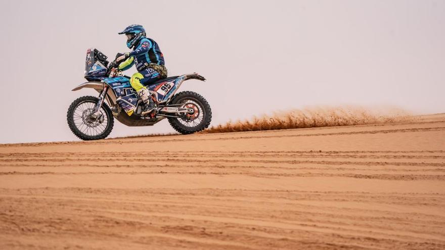 Peterhansel gana el Dakar; Carlos Sainz, la etapa