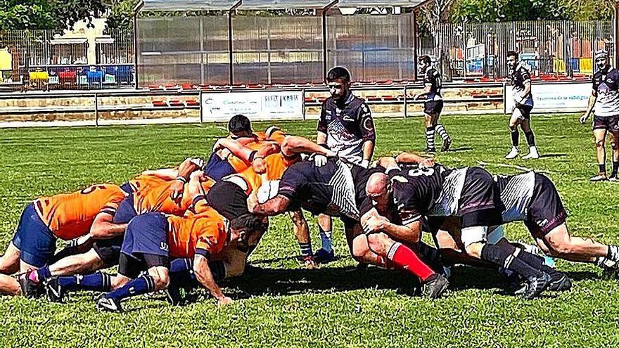 El Inter A de rugby se agencia una abultada victoria en su regreso