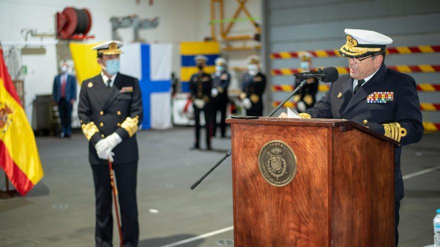 Un vigués, nuevo Almirante de la Flota