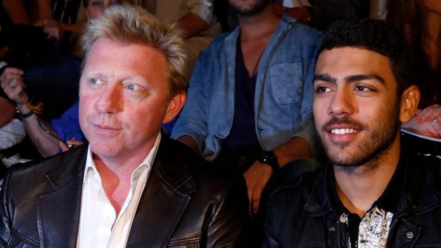 El hijo de Boris Becker denuncia a un diputado de ultraderecha por racista