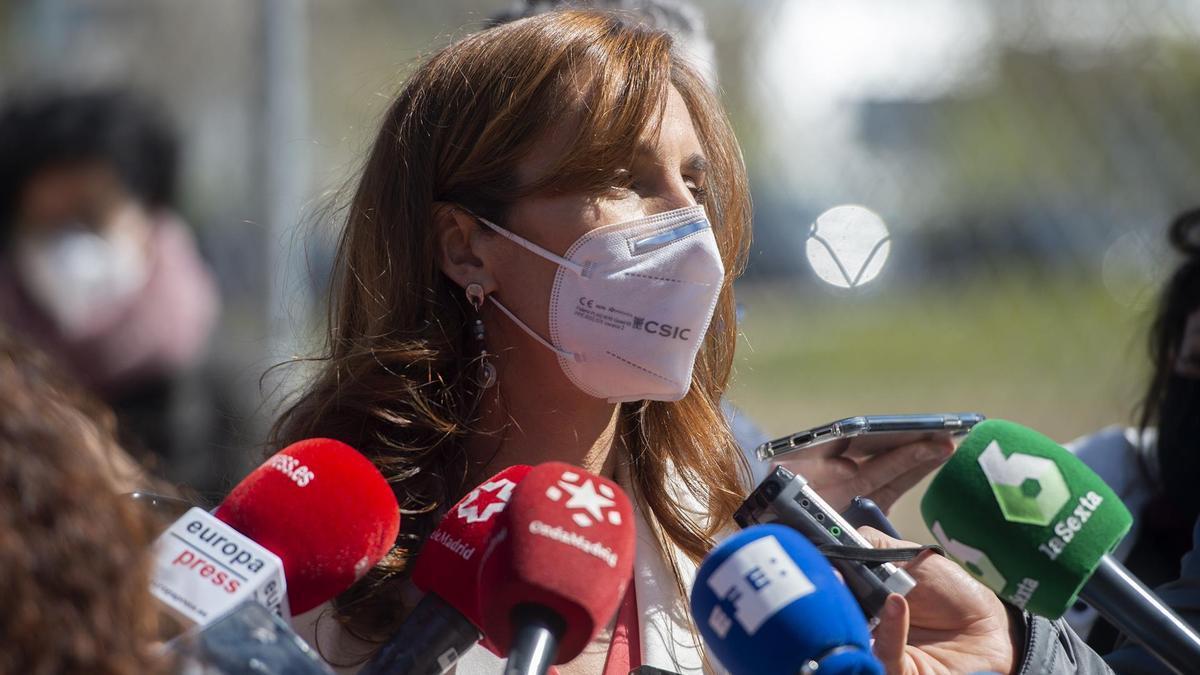 La candidata de Más Madrid por Madrid, Mónica García.