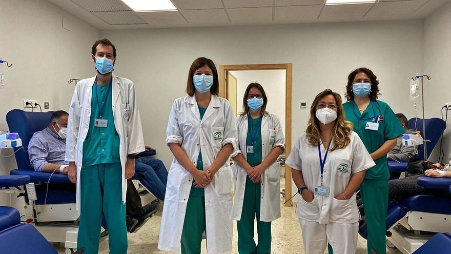 El Reina Sofía trata en un nuevo hospital de día patologías neurológicas sin ingreso