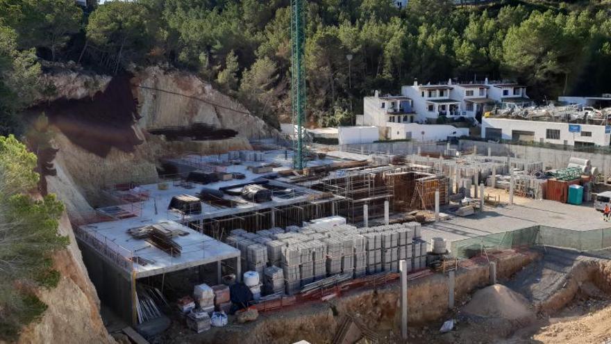 Sant Josep ordena la paralización de las obras de Vadella 24 y se enfrenta a una indemnización