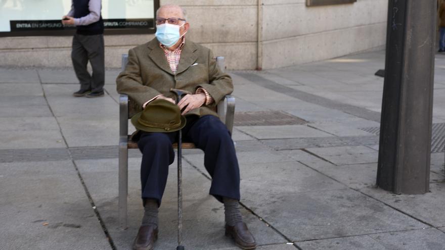 La pensión media en Extremadura es la más baja del país: 859,70 euros