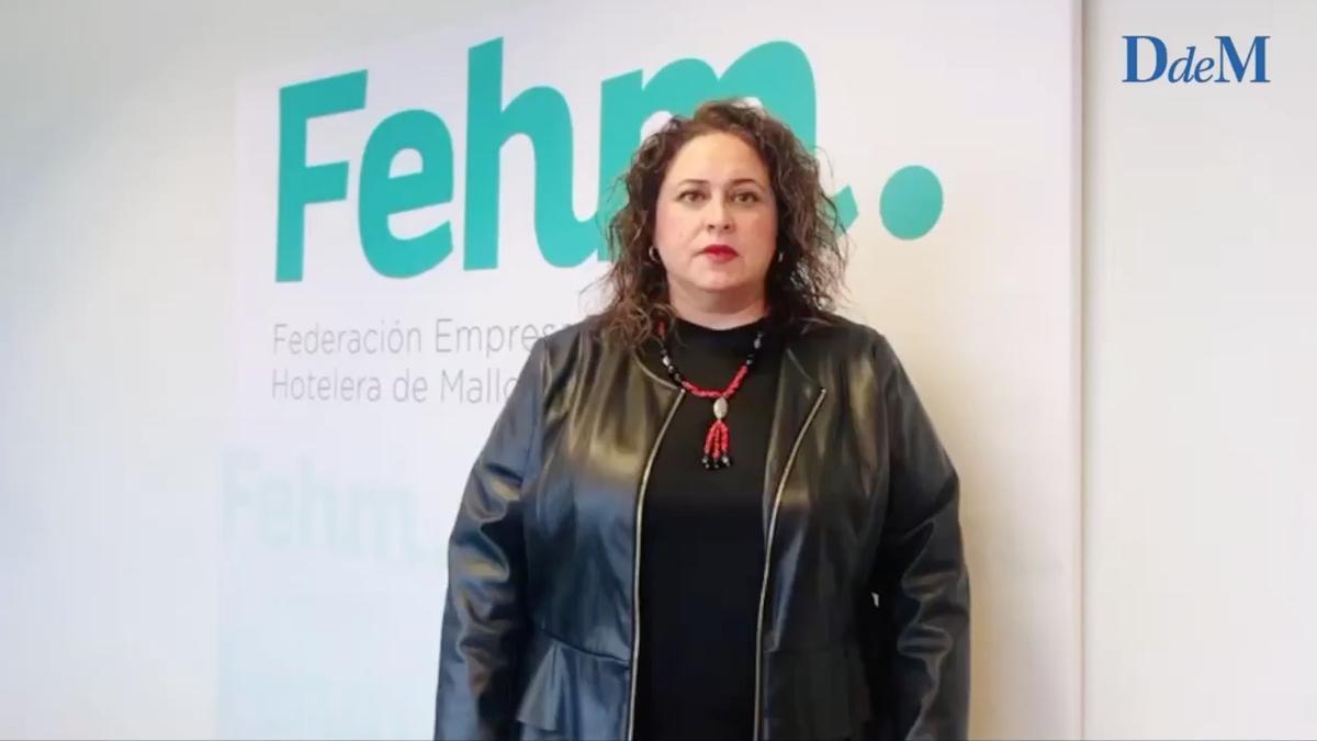 María José Aguiló, gerente de la FHEM.