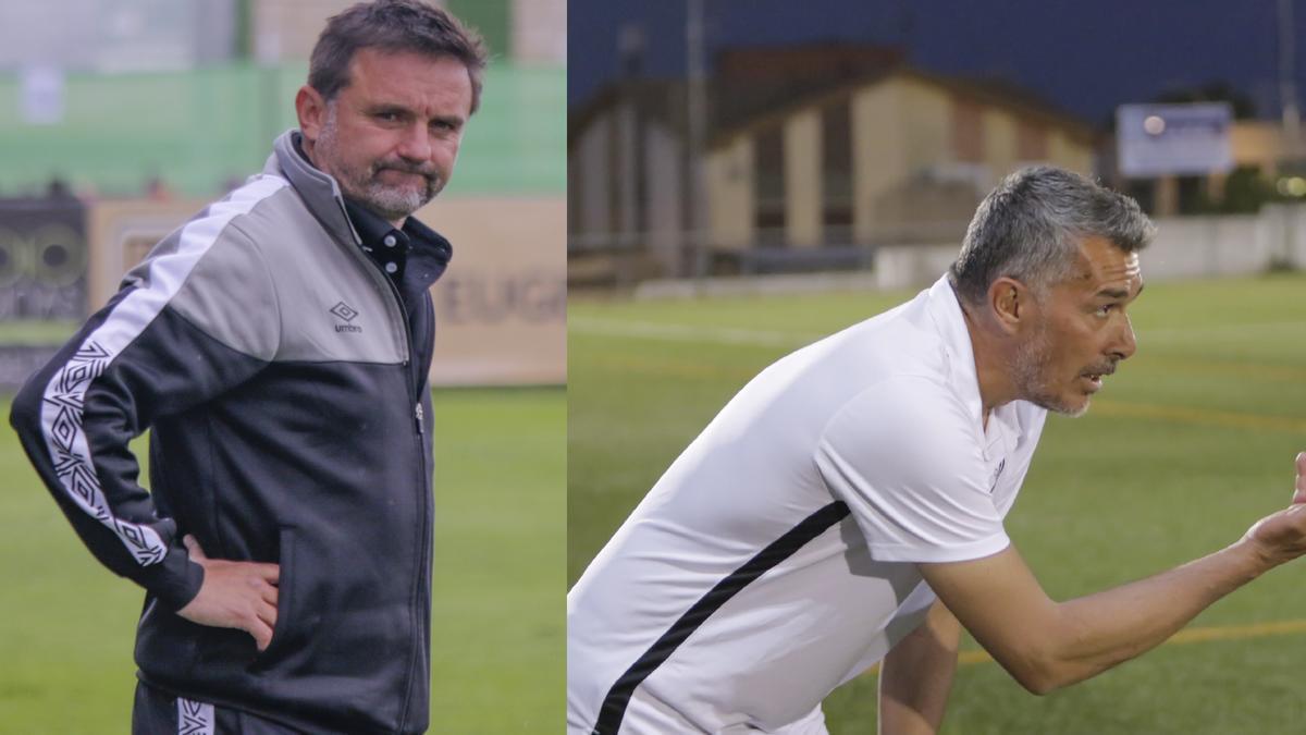 Julio Cobos, confirmado en el Cacereño, y Juan Marrero, que tiene contrato con el Montijo.