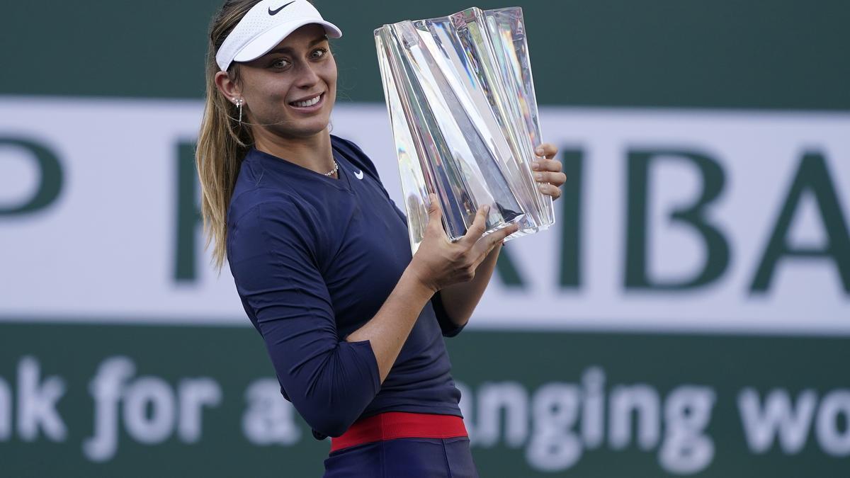 Paula Badosa conquereix l'Indian Wells