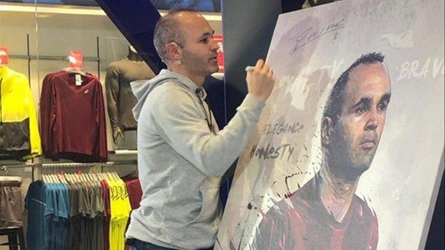 "Iniesta: ""Me va apeteciendo ser entrenador"""