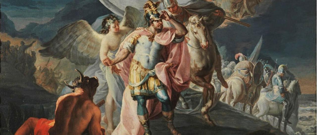 """El """"Aníbal vencedor"""" de Goya, hoy propiedad del Museo del Prado."""