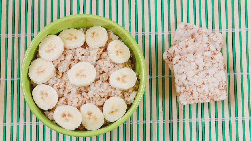 Barrita de cereal – avena y banana