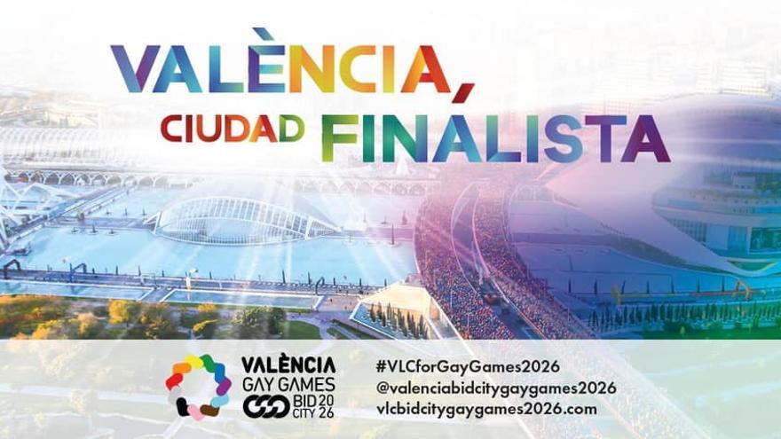 València, finalista para albergar los Gay Games 2026