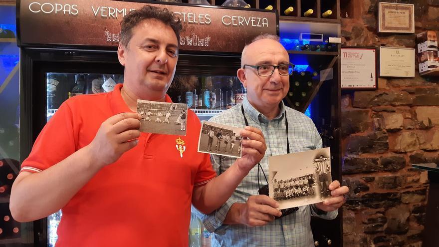 Bolinches y el tesoro de los cincuenta para el historiador sportinguista Frichu Yustas