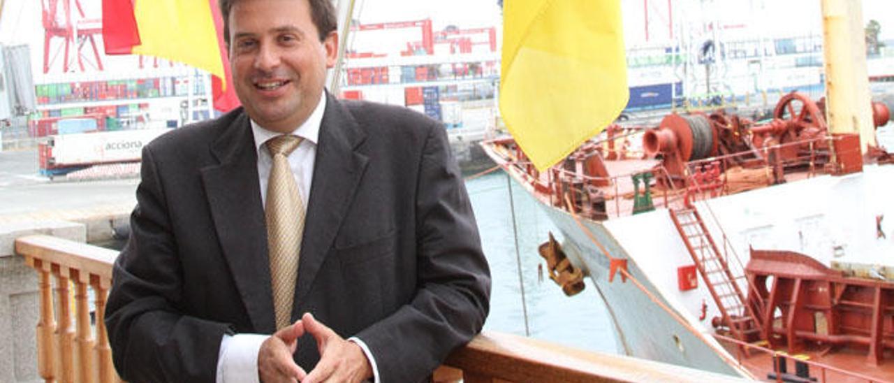 Los empresarios del Puerto aprueban la continuidad de la gestión de Luis Ibarra