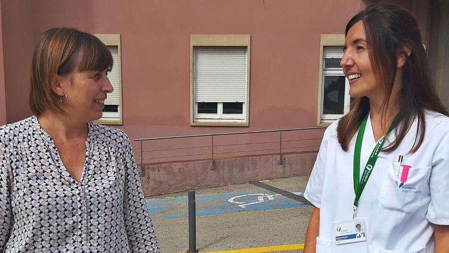 Glòria Pla i Sandra Devesa treballen en xarxa per protegir les persones grans que poden ser víctimes d'abusos, abandó o vulneració de drets