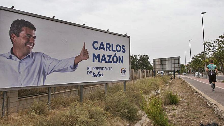 La factura para promocionar a Carlos Mazón le cuesta al PPCV 43.480 euros
