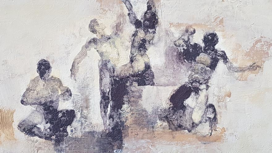 La exposición pintura 'Inundacions' de Menéndez Rojas se inaugura el miércoles 5 de mayo en el Club Diario de Ibiza