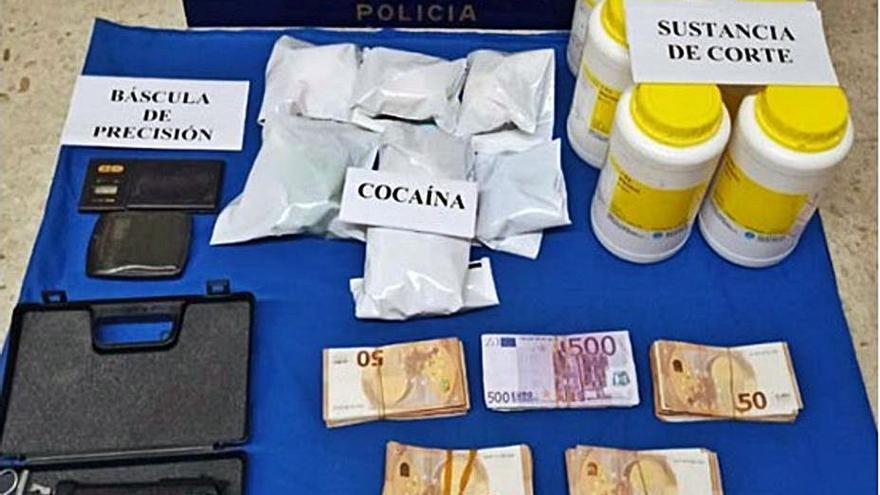 El cabecilla de una red de drogas de Os Mallos compraba pisos para blanquear el dinero