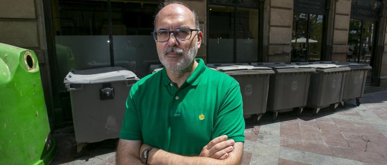 Manuel Villar: «Alicante no va a estar limpia de un día para otro, pero intentaremos que se note una mejoría a corto plazo»