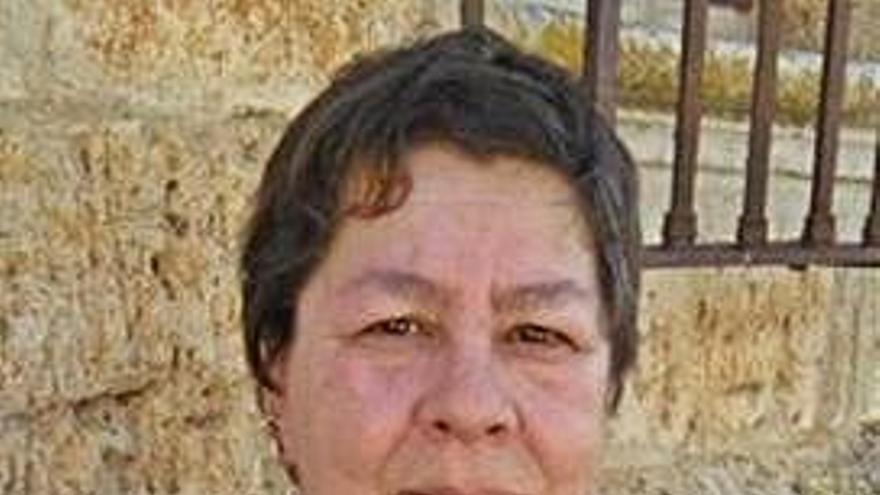 Loli Carreras, candidata.