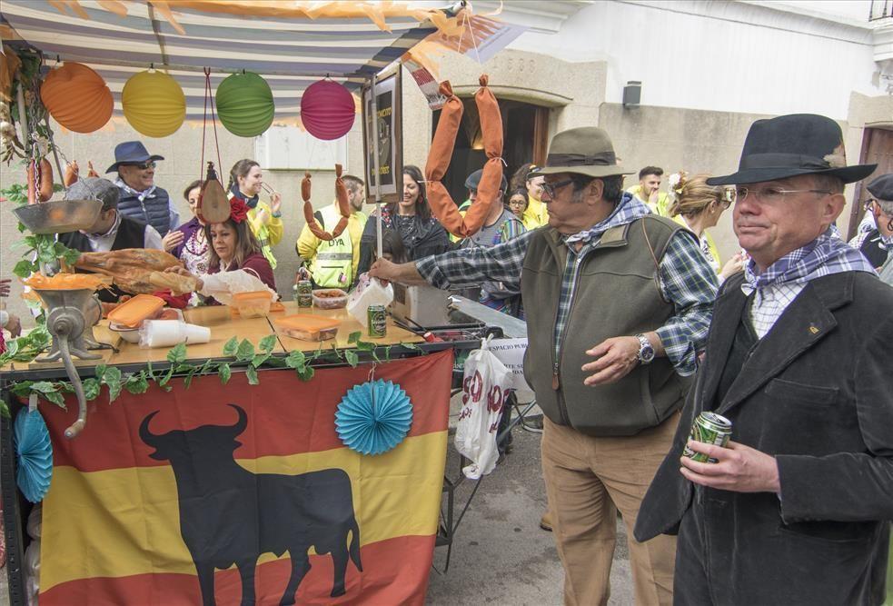 Día grande en Malpartida con la fiesta de la patatera