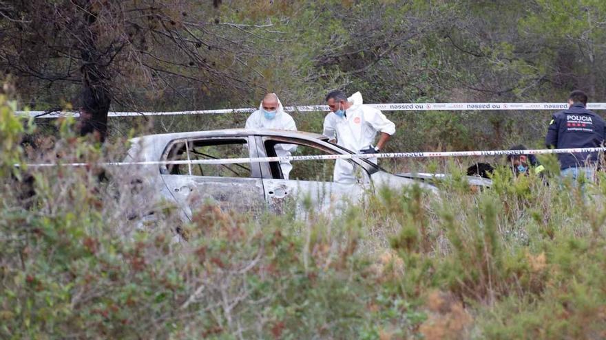 Troben el cos d'una persona calcinada aquest dimarts dins d'un vehicle a Albinyana