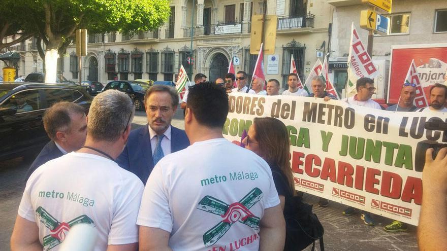 La Junta reitera el compromiso de licitar este verano el tramo del metro hasta el Civil