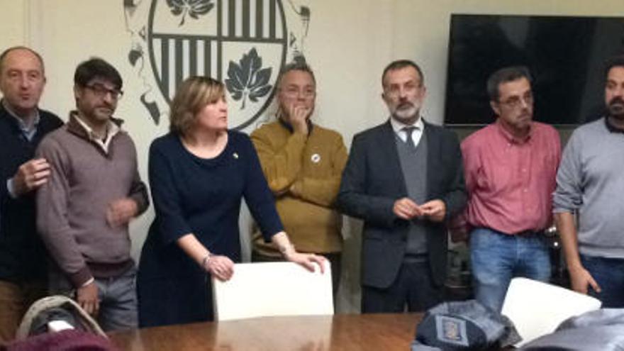Deu vots de l'oposició eviten el ple de renúncia de Marta Felip a Figueres