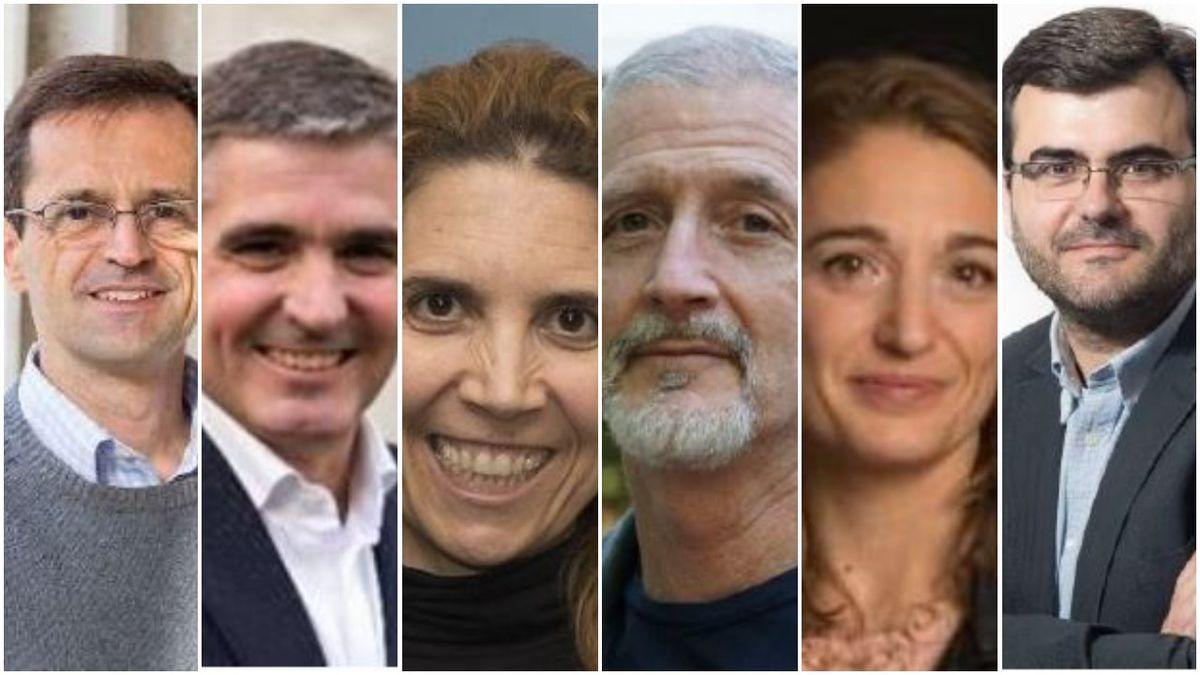 The six winners of this year's Jaume I Awards.