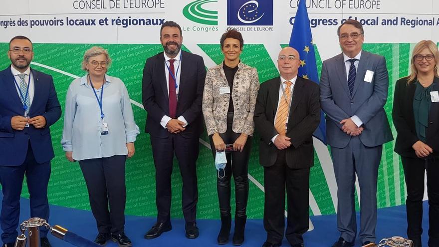 El alcalde de Vila-real defiende en Estrasburgo la autonomía local y una mejor financiación