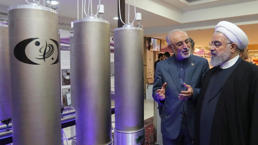 Irán deja de cumplir la limitación a su programa nuclear