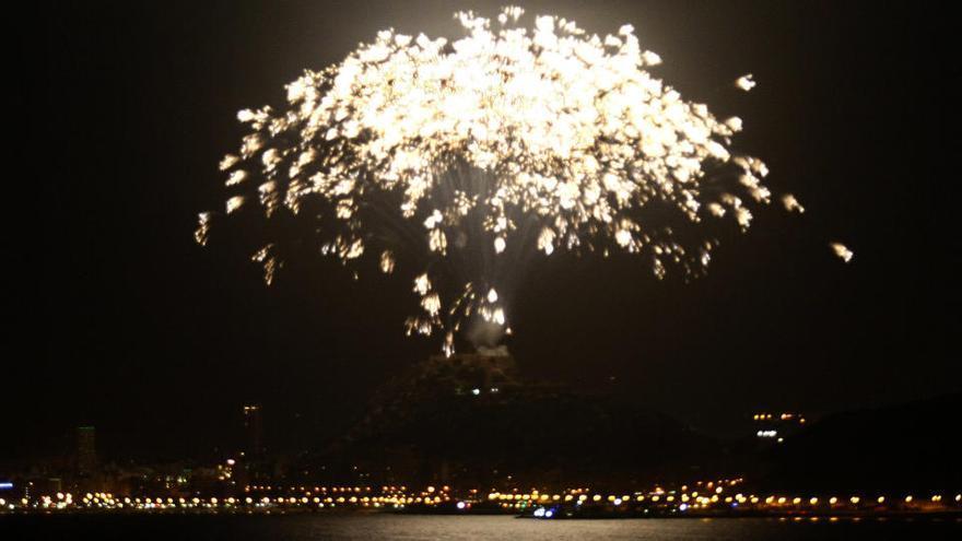 La pirotecnia volverá en las Hogueras de Alicante