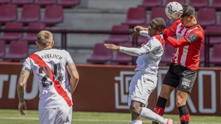 El Rayo empata contra el Logronyès (0-0) i també queda a 4 punts del Girona