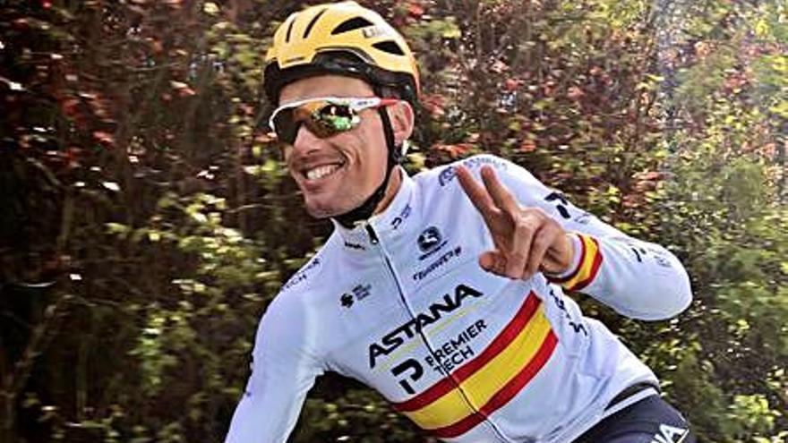 Luis León Sánchez, el único murciano en el Giro de Italia que comienza el sábado en Turín