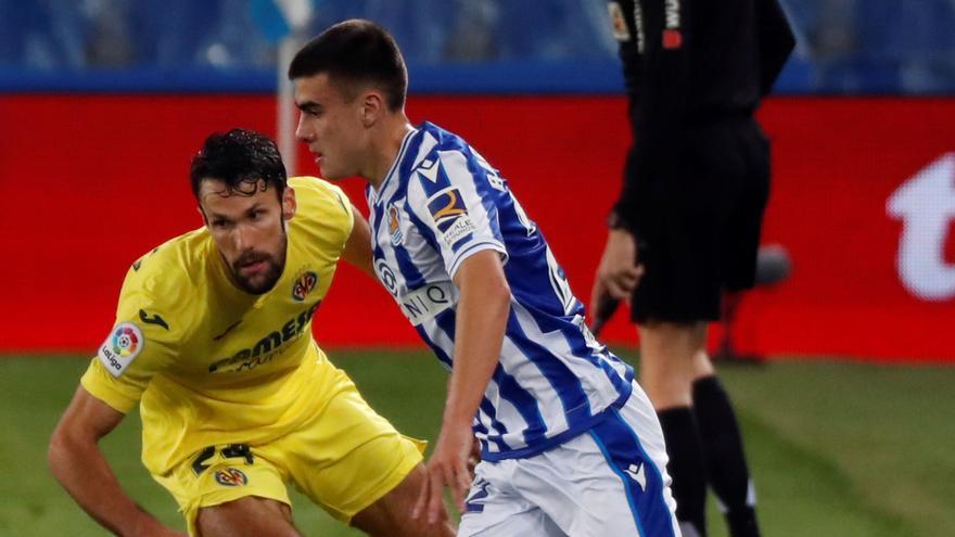 El Villarreal frena a la Real Sociedad
