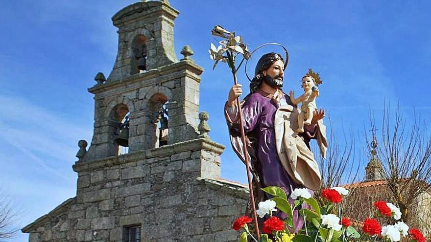 Los alistanos, huerfanos este San José