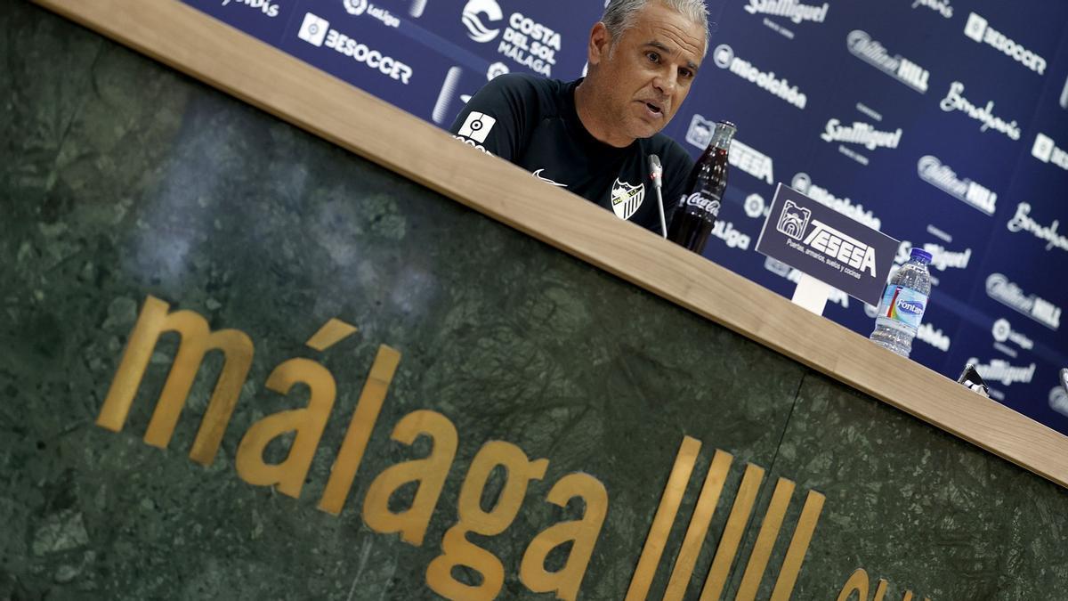 Pellicer, en rueda de prensa previa al choque en Oviedo