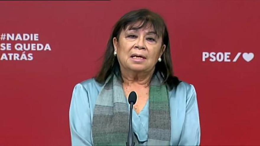 El PSOE llama a ejercer la libertad de manifestación pacíficamente
