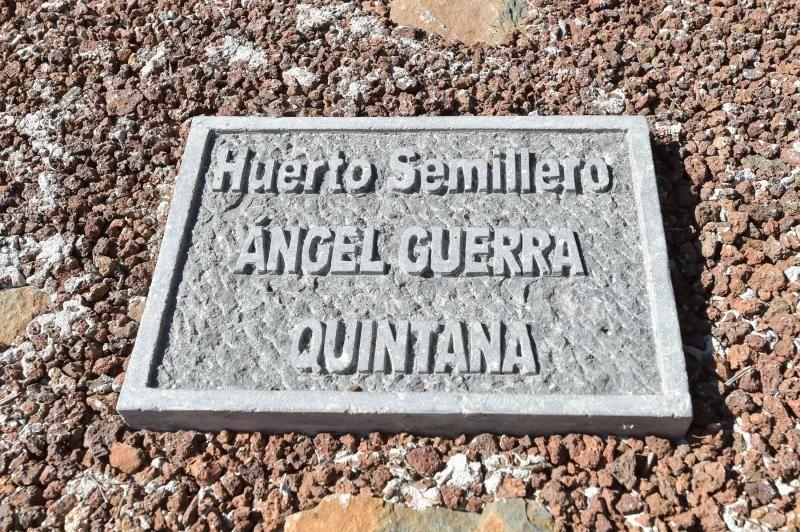Homenaje en Osorio a un viverista.