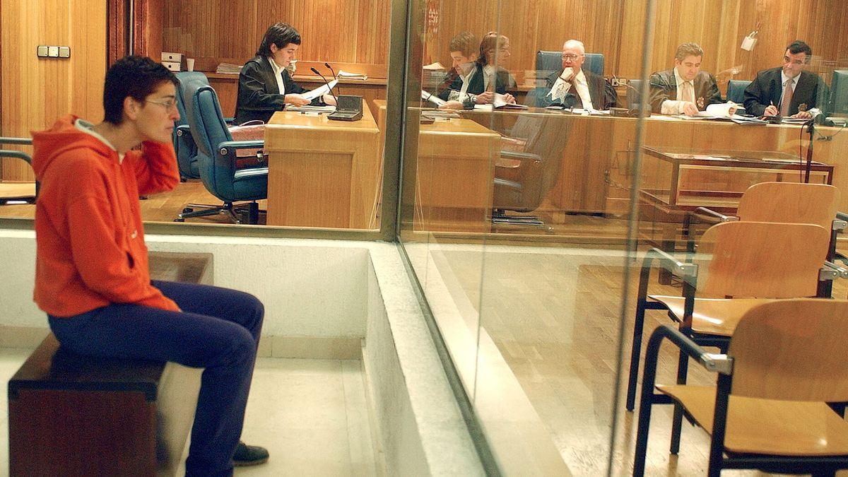 La etarra Ana Belén Egües en la Audiencia Nacional.
