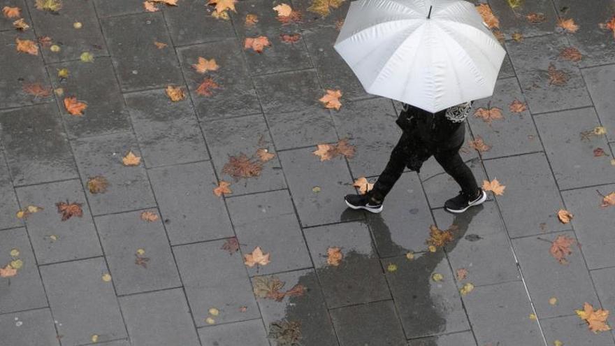 Lluvia con barro y vientos cálidos para el fin de semana en Asturias