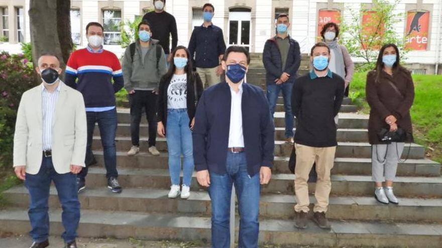 """Nietos de emigrantes se forman en el campus: """"Al llegar a Galicia sentí como si hubiera nacido aquí"""""""