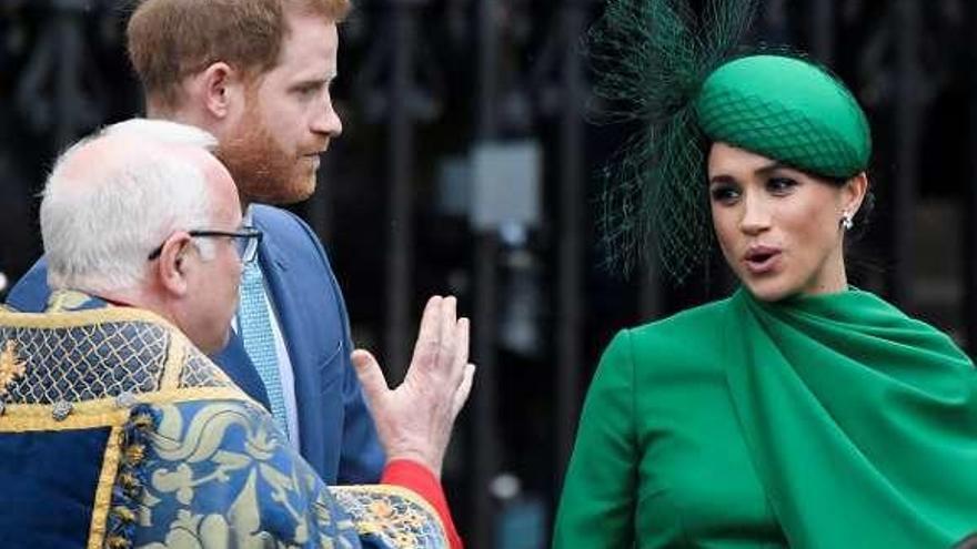 Último acto de los duques de Sussex como parte de la familia real