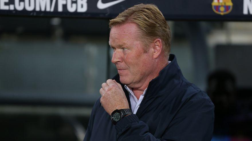 """Koeman: """"Espero que Ansu Fati juegue muchos años en el Barça"""""""