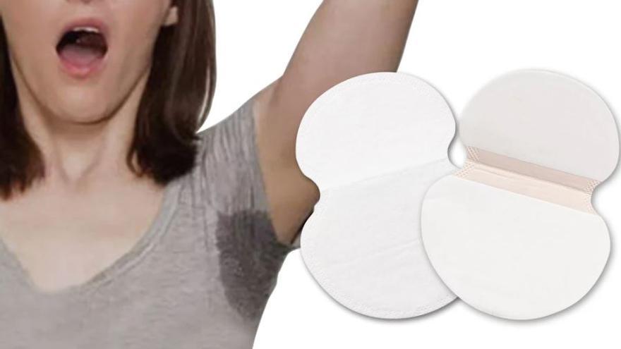 Cómo evitar las manchas de sudor en las axilas