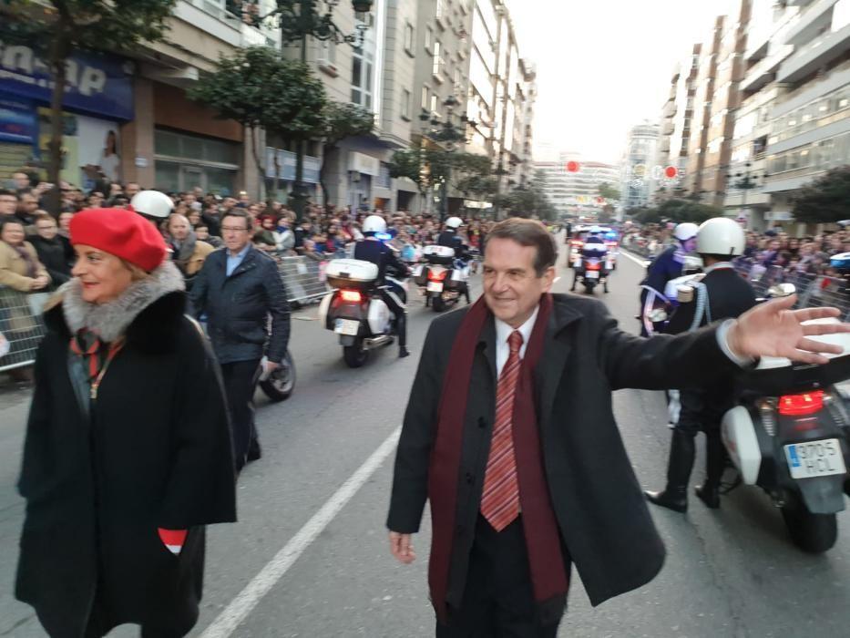 Cabalgata de Reyes de Vigo 2019