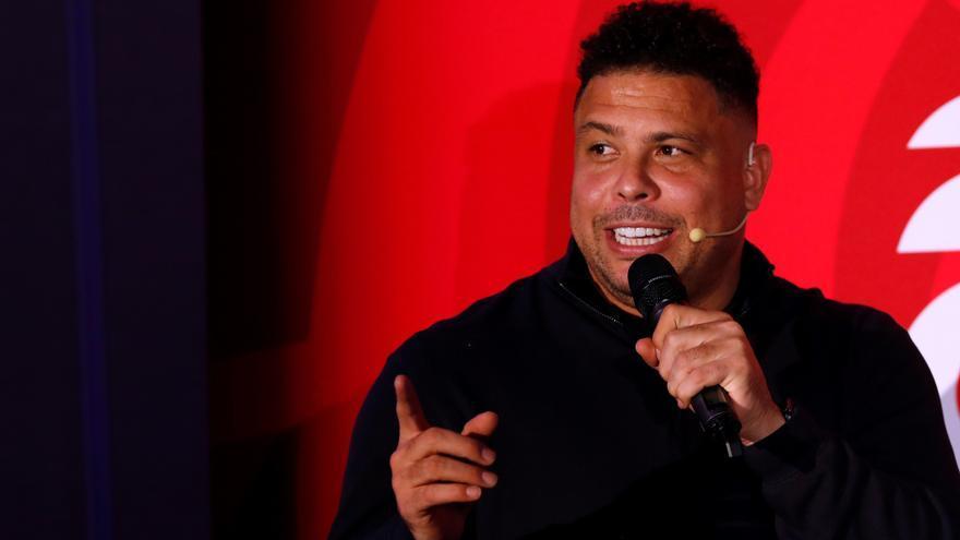 DAZN producirá tres series sobre el exfutbolista Ronaldo Nazario