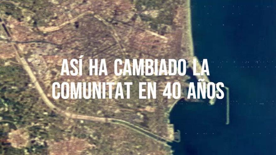 Así ha cambiado la Comunitat Valenciana en las últimas décadas