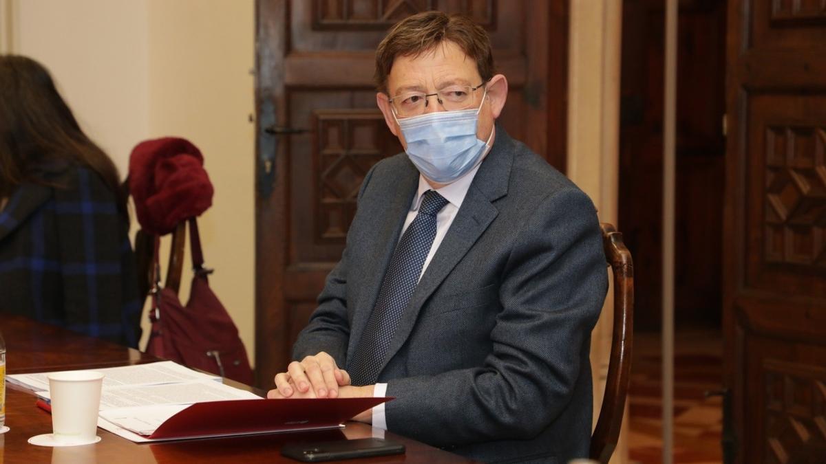 """COMUNIDAD VALENCIANA.-VÍDEO: Ximo Puig sobre los alcaldes vacunados de covid: """"Es una actuación absolutamente minoritaria e irregular"""""""